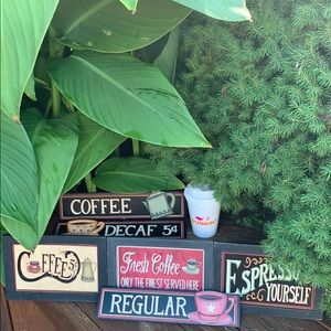 Other - NWOT! Coffee ☕️ Wall Art